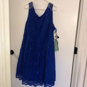 NWT jr plus prom dress